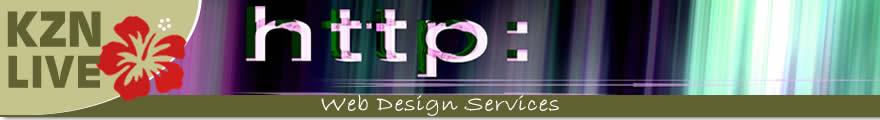 KZNLive Web Design Services Banner