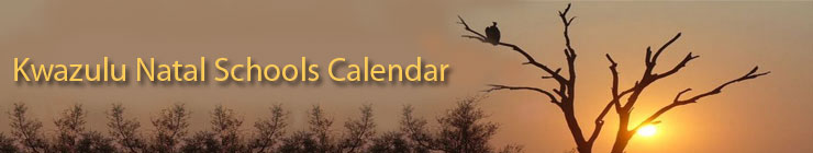 Welcome to Kwazulu Natal Schools Calendar