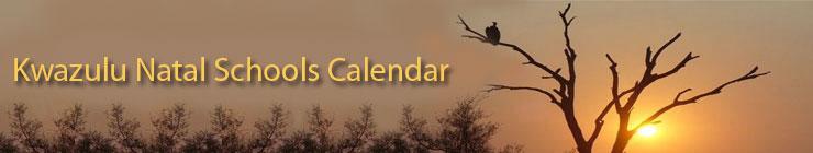 Welcome to Kwazulu Natal Schools Calendar
